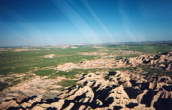 the background of the badlands in south dakota Badlands / white river koa photos located in interior, south dakota.
